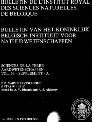 Bulletin de l'Institut Royal des Sciences Naturelles de Belgique.